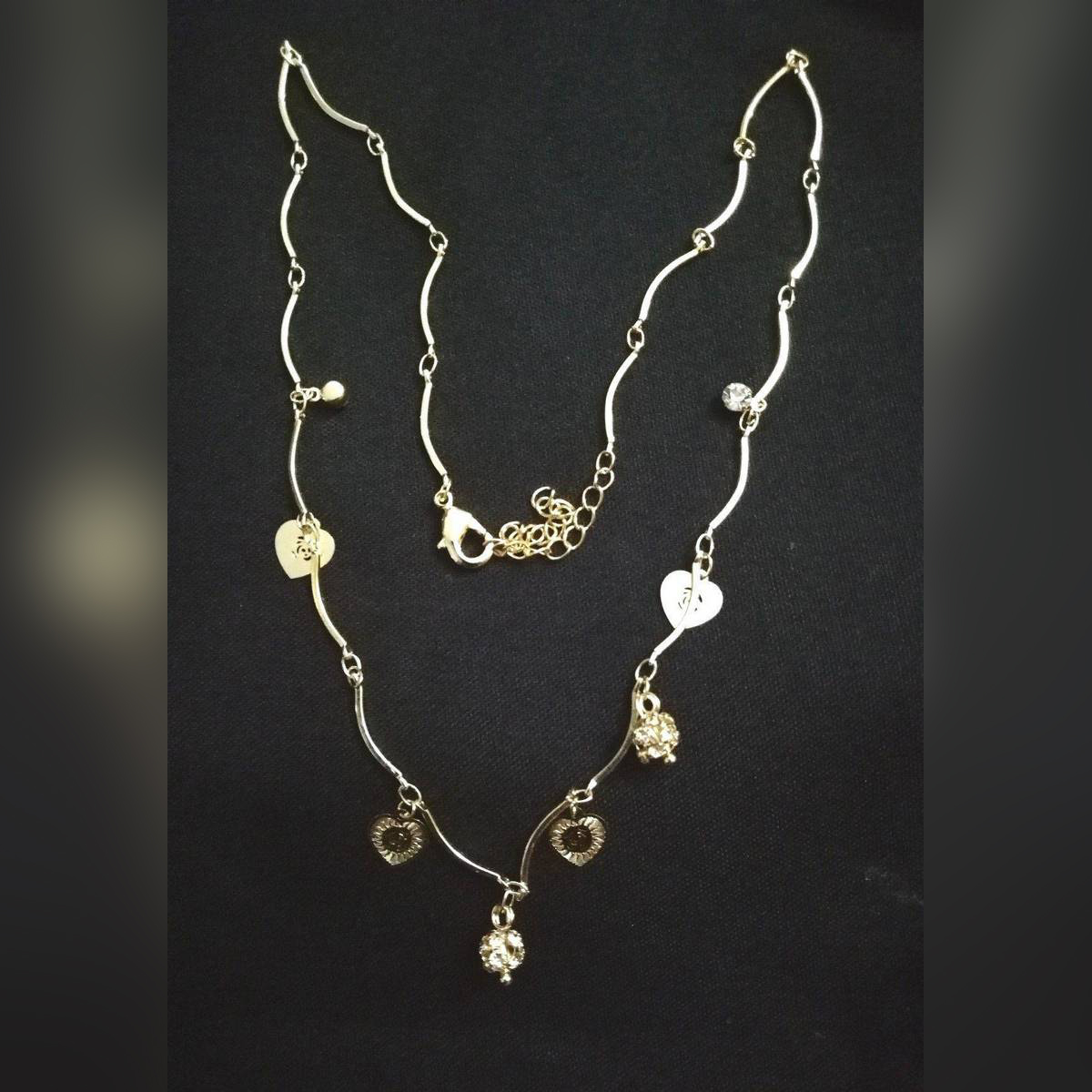 Wedding Jewelry Sets Gold Plated Pendant Necklaces