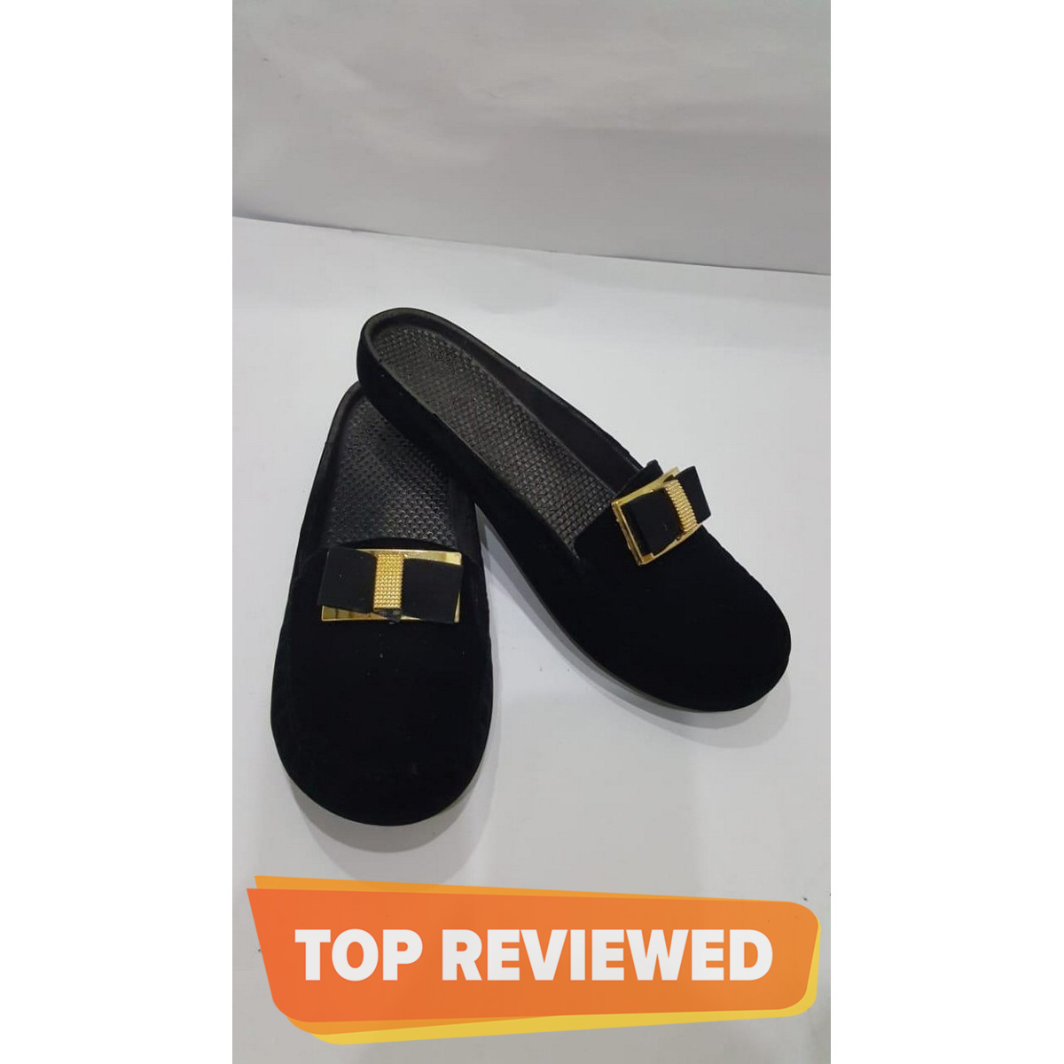 KFC Casual Black Slipper For WoMen Latest Arrival With Fabolus Quality