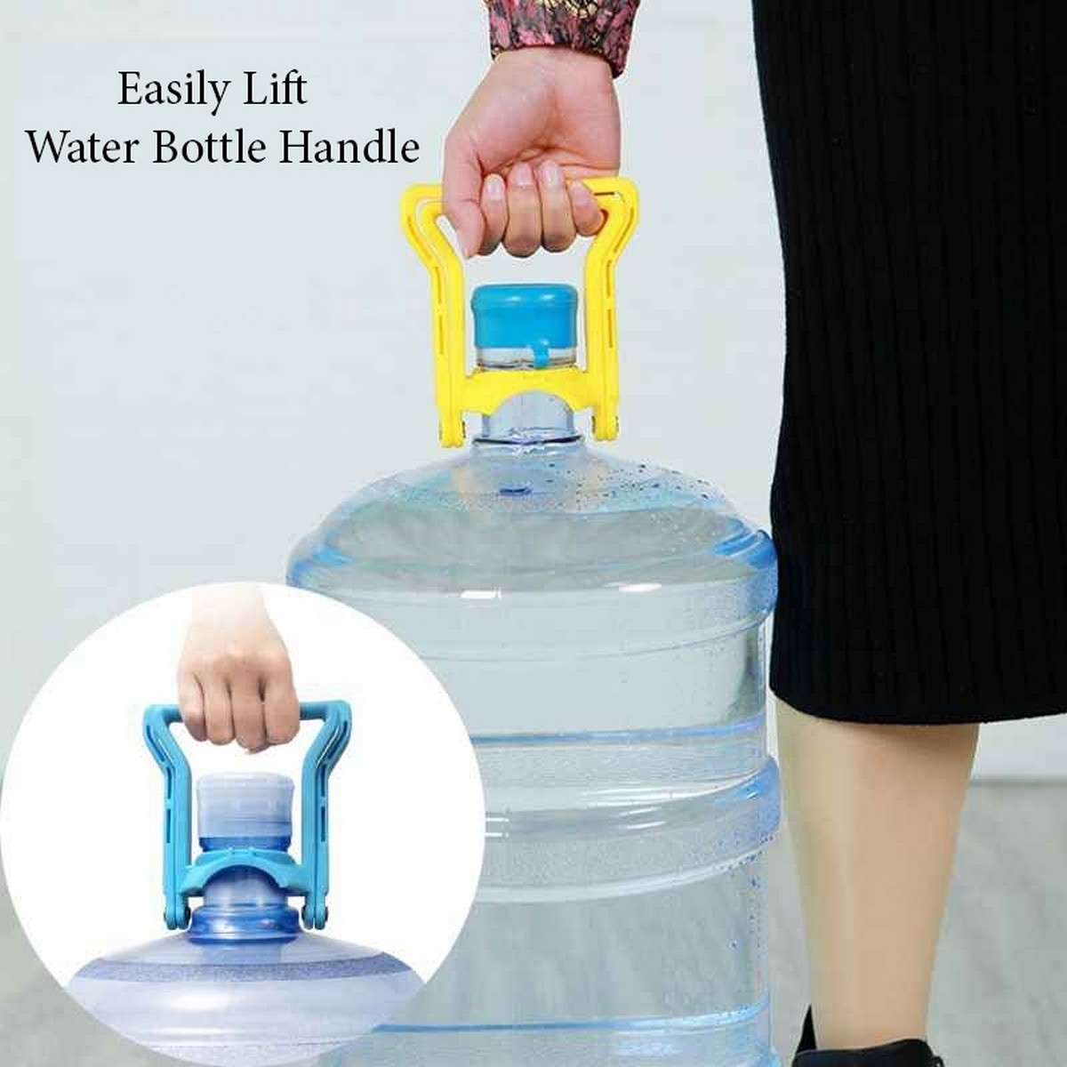 High Quality Durable Flat Water Bottle Can Handle - Easy Lifting for 19~20 Litter Flat Water bottle Holder handle