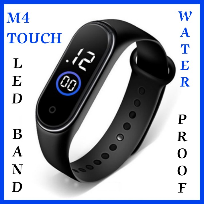 Watch for boys and girls | Waterproof Sport M4 watch Trendy Stylish Touch screen | M4 Touch Led Bracelet Digital Watch Band | Luxury Sport Casual M4 for Boys & Girls | Smart band watch | M4 Digital Watch Band Led | Latest Digital LED Design like M3 watch