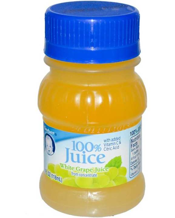 Gerber Juice White Grape 118ml