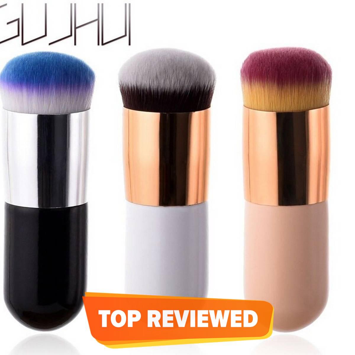 Chubby Pier Foundation Brush Flat Cream Makeup Brushes Professional Cosmetic Makeup Brush