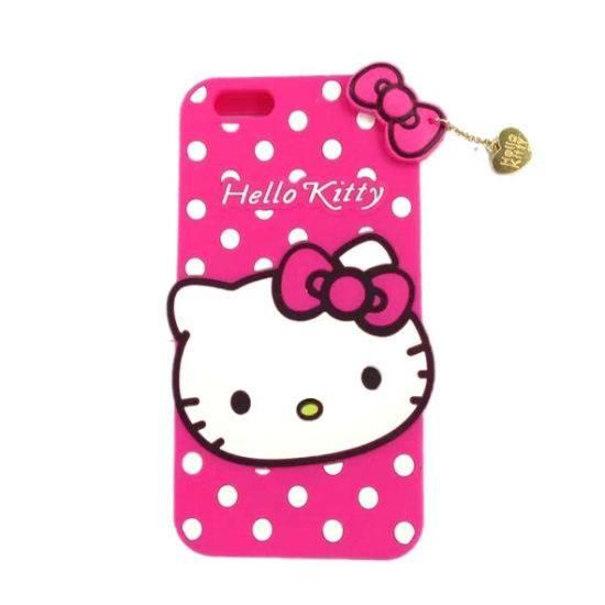 2d036ccc7 Hello Kitty 3D Coverage Soft Rubber Back Cover for Huawei Y7 Prime 2019