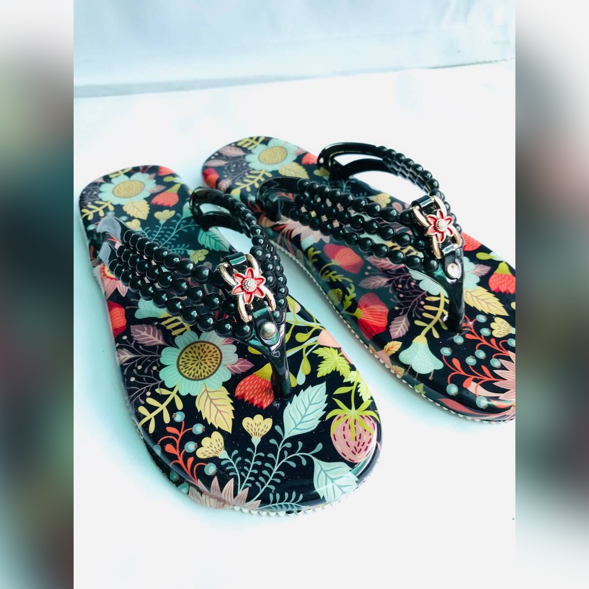 Modern Chappal For ladies casual Comfortable Slipper Multicolor