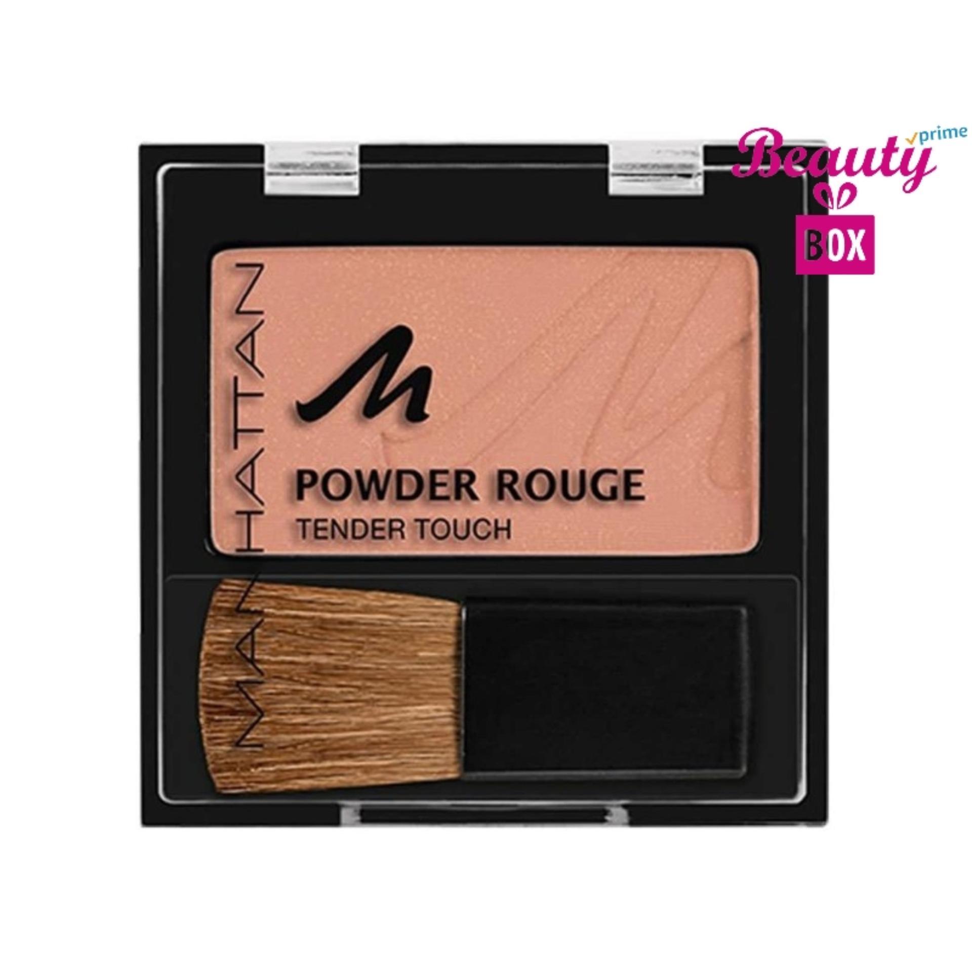 Manhattan Powder Rouge Tender Touch Blush - Nude Mood