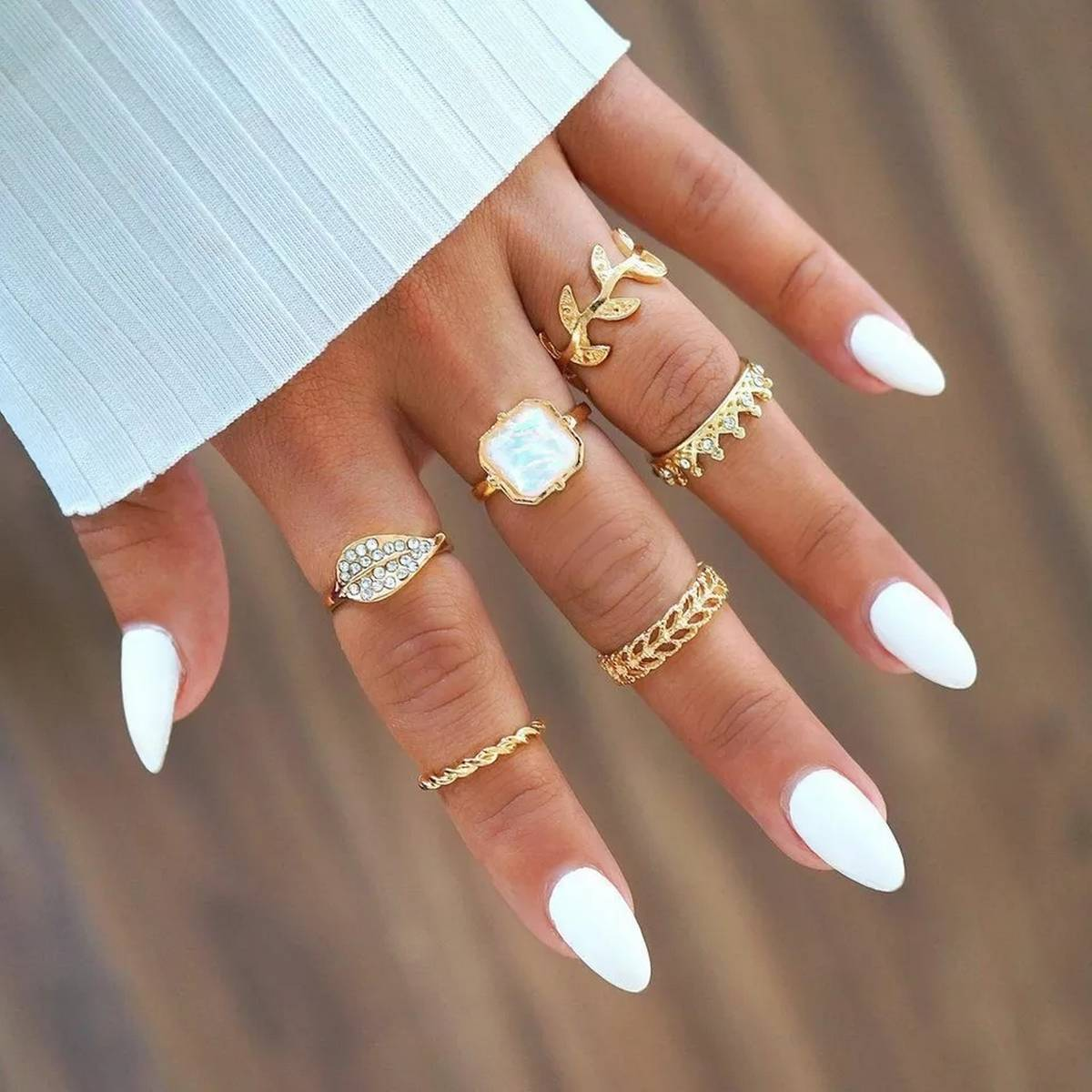 6 Pieces Rings/Set Hot Personality For Girls & Woman