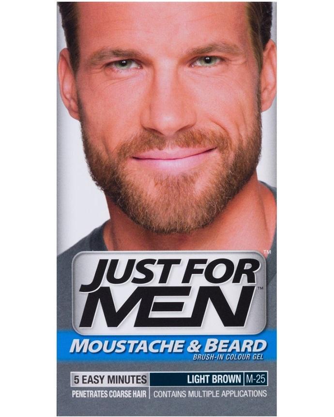 Just For Men Beard Color Natural Light Brown: Buy Online at Best ...