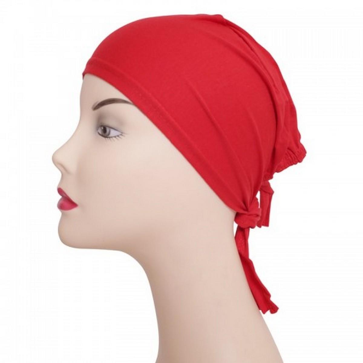 Plain hijab cap Red, Skin, Navy Blue, Blue, Pink, Brown, Green, Maroon, Purple Hijab Caps for Girls JK Cart Inner Hijab Scarf Islamic Under Scarf Cotton Islamic Hat Abaya Cap
