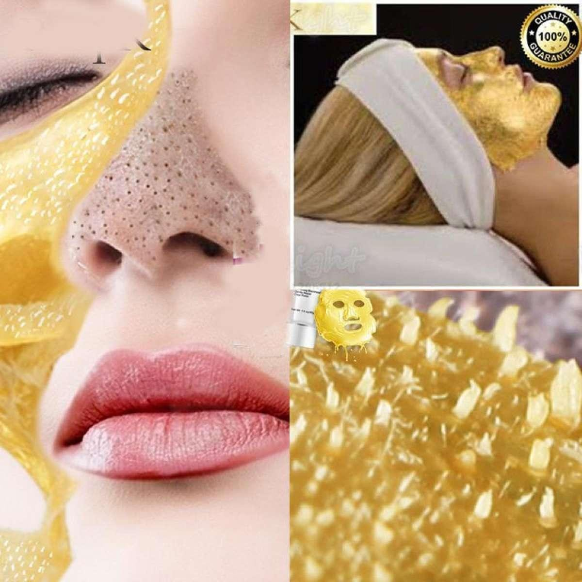 Gold Collagen Peel Off Mask Face Tear off Whitening Lifting Firming Skin Anti Wrinkle Anti Aging Facial Mask Black Head Care Rafias collection
