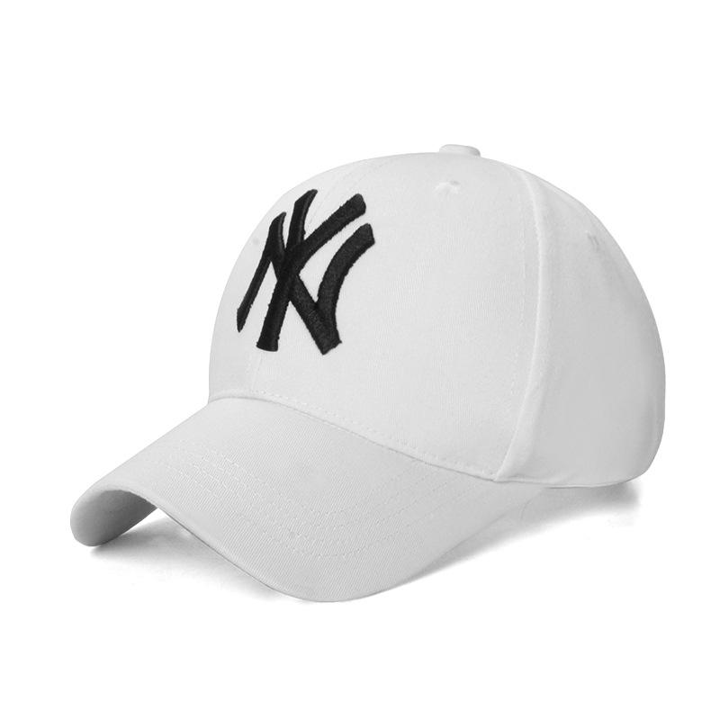 bb8614f40e1cce 100% Cotton NY Sports Cotton Cap for Men with Adjustable Strap - Baseball  Cap For