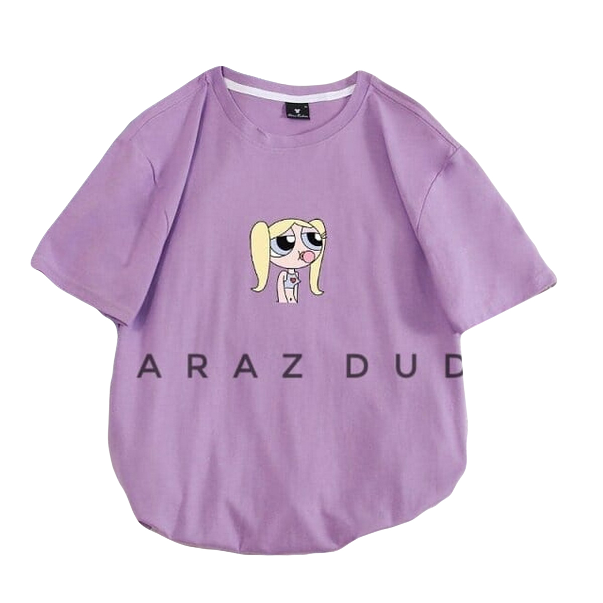 New PPG Print Round Neck Half Sleeves Casual Printed T Shirts For Girls Women And Ladies
