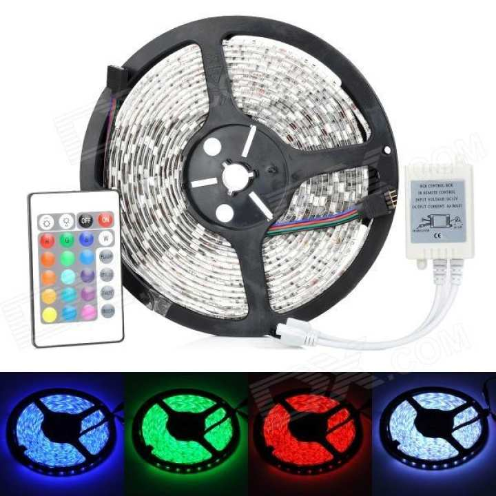 Flexible RGB Color Changing Strip SMD Light with Remote Control