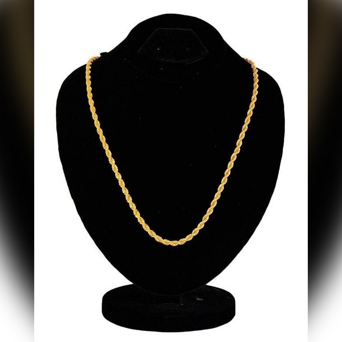 Hi Charlie 18 K Gold Plated on Stainless Steel Chain For Women