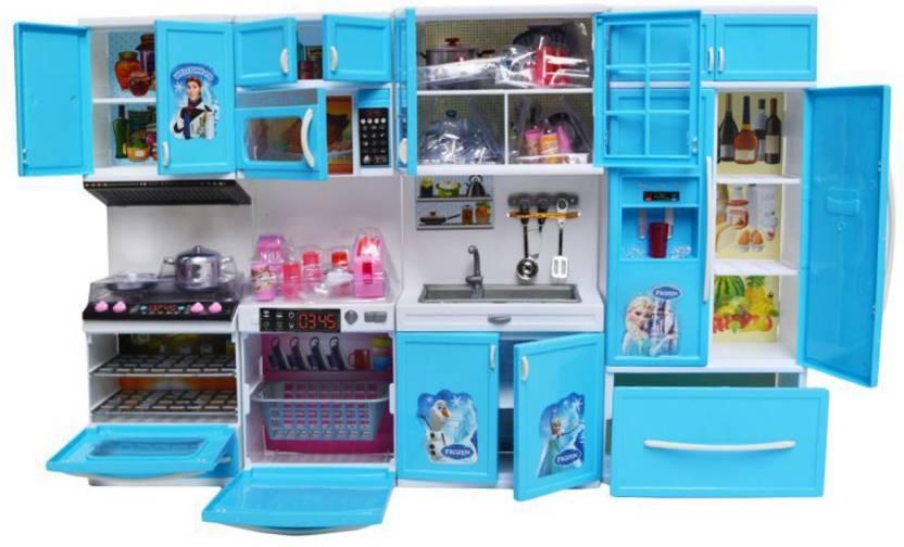 Frozen Princess Kitchen Set For Children Buy Online At Best Prices In Pakistan Daraz Pk