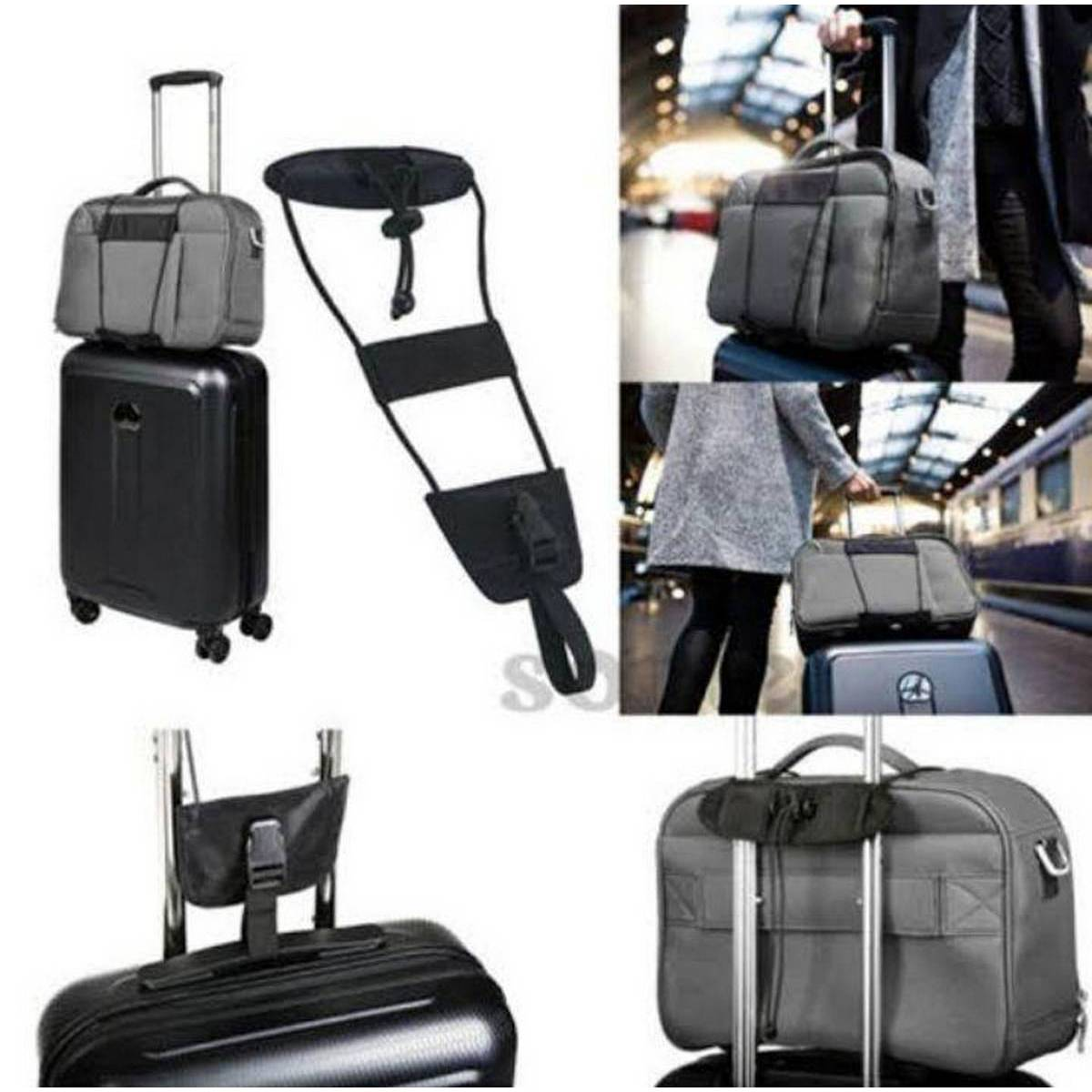 New Practical Bag Bungee Luggage Backpack Carrier Strap Outdoor Travel Luggage Suitcase Belt Adjustable Bag Bungee Strap.