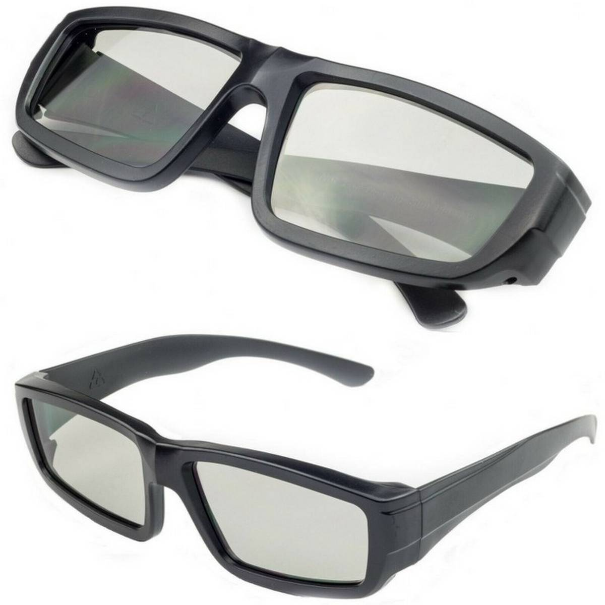 High Quality Clip On 3D Polarized Passive 3D Stereo Glasses Cinema 3D Glasses Clip on Eyesight Glasses Polarized 3D Glasses Used For Cinemas Films & 3D Enabled LED TV