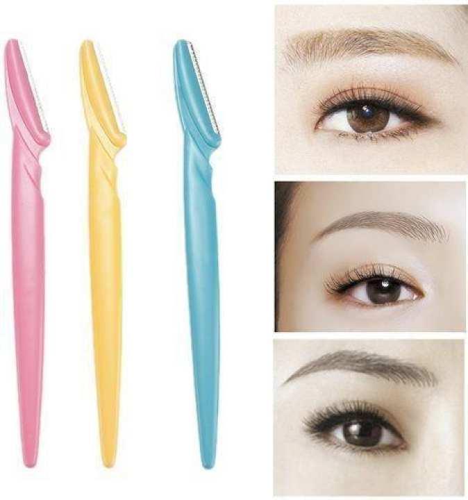 Twinkle eyebrow 3 Pcs razor-Pain less hair Remover-eyebrow   hair removal-women shaver-razor
