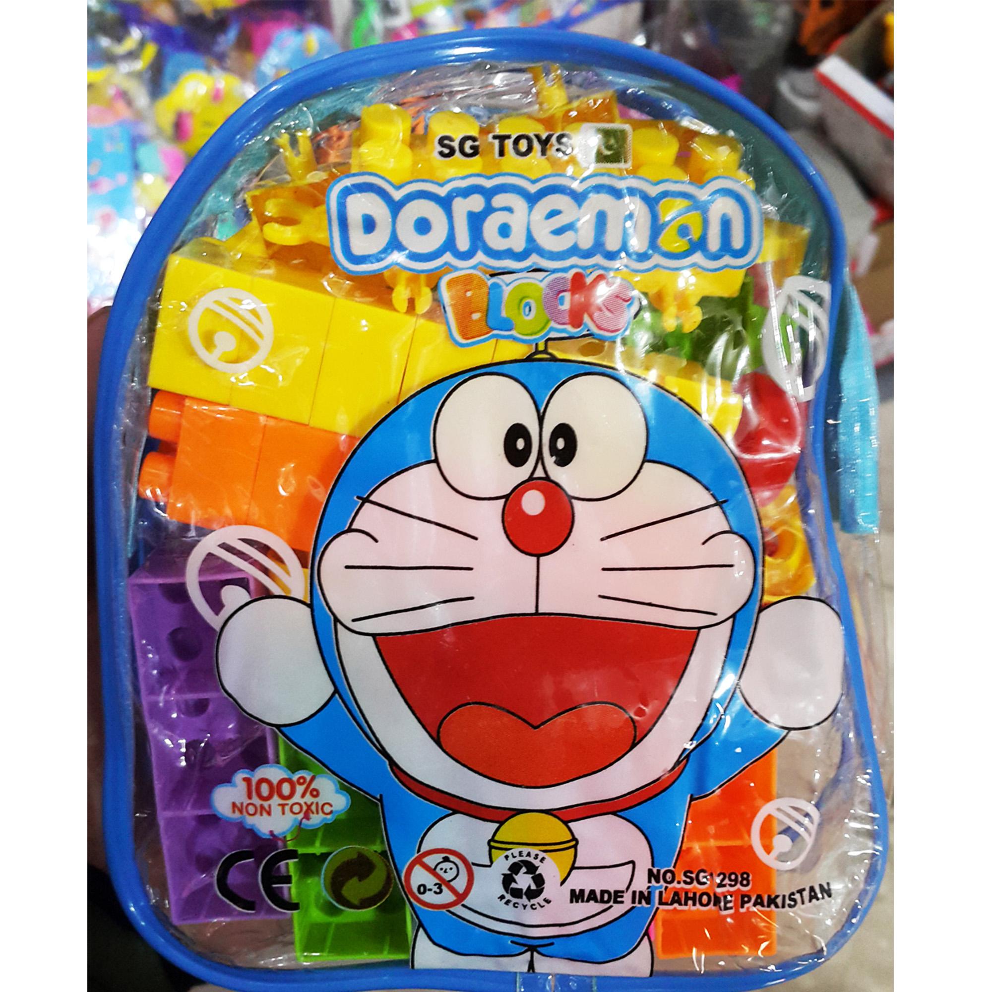 Doraemon Blocks Bag Multi Colour -DoraemonB
