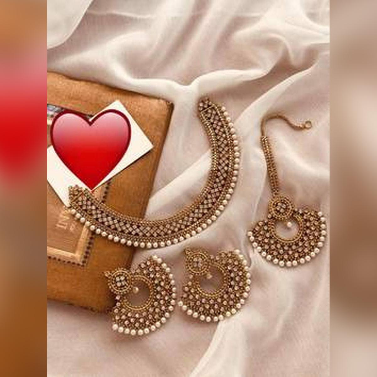 bridal set gold pleted new style fashionable design for woman long lasting polish