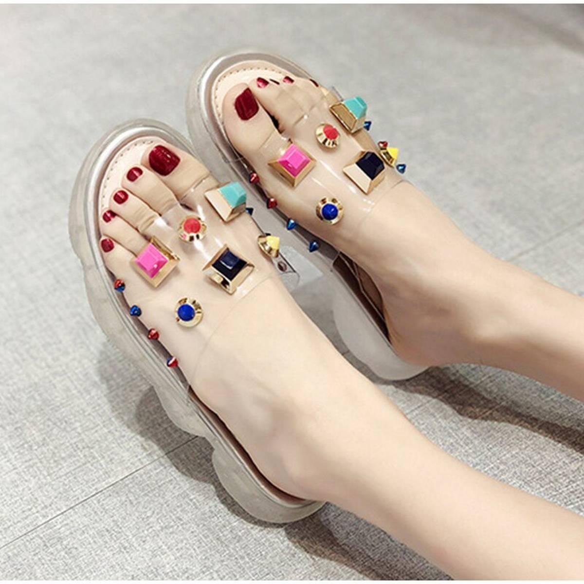 Transparent Women Sandals