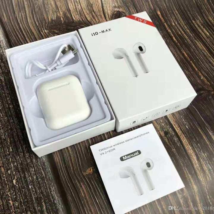 i10 TWS Duel Wireless Earbuds Mini Wireless Bluetooth 5.0