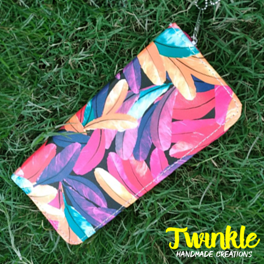 Twinkle Clutch for Girls Mobile Long Purse for Women use as Mobile Phone Wallet