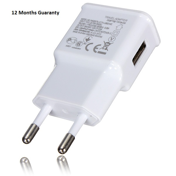 2 Pin Fast charging Adapter/Wall charger QC(3.0) adaptive for all mobile phones Models Support Upto 15 Watts Without Cable