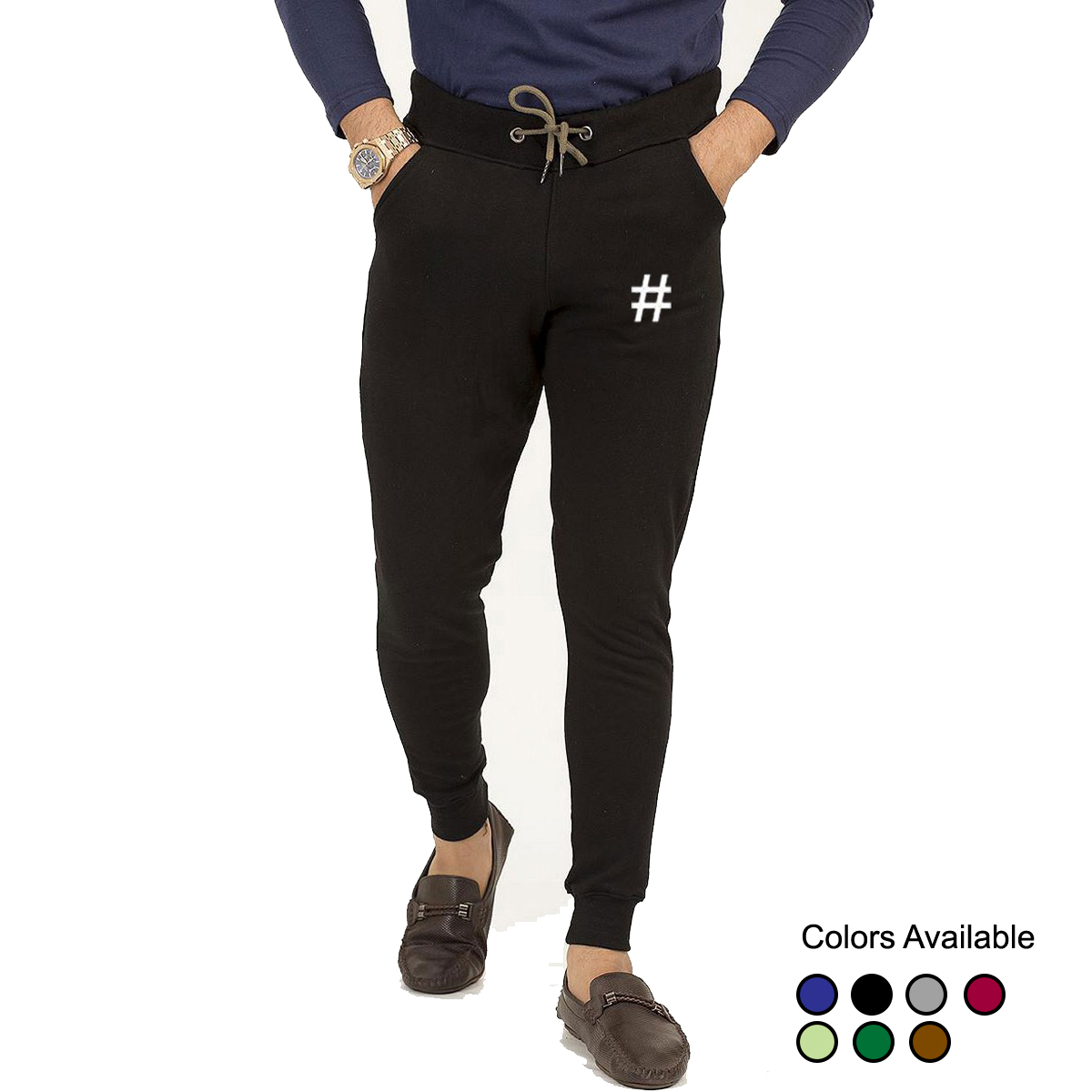 Summer Tag Cotton Gym Sports Trousers French Terry and Jogging Sweatpant Trouser For Men and Boys