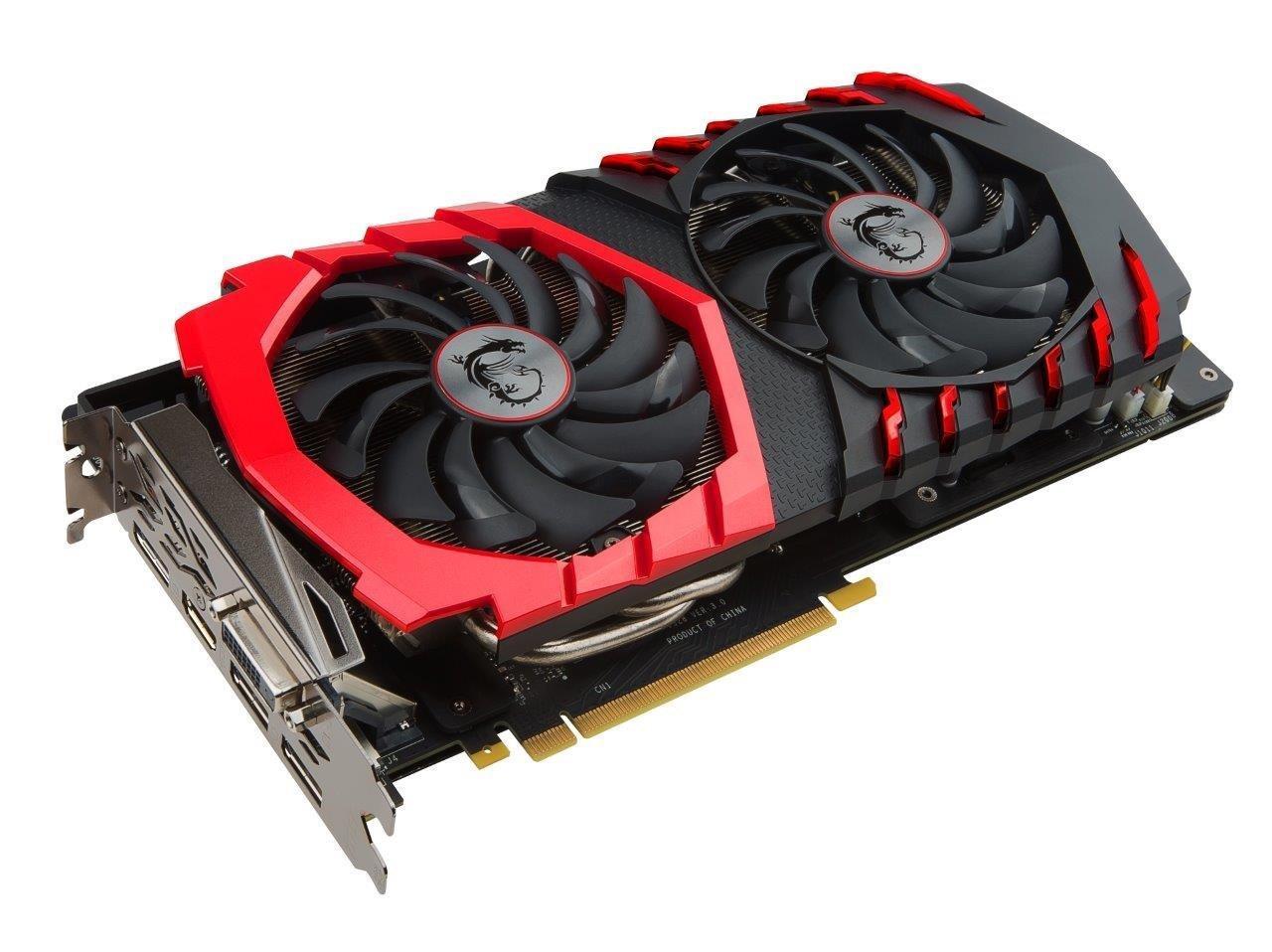 MSI GAMING GeForce GTX 1060 6GB GDRR5 192-bit HDCP Support DirectX 12 Dual  TORX 2 0 Fan VR Ready Graphics Card (GTX 1060 GAMING X 6G)