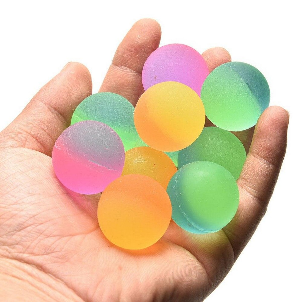 10PCS High Bouncing Balls – For Kids Boys And Girls Great Party Favors, Bag Stuffers, Fun, Toy, Gift
