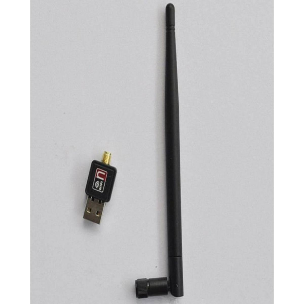 1000Mbps USB2.0 Wifi Wireless Network Adapter Dongle+Antenna 802.11n/g/b LAN Card