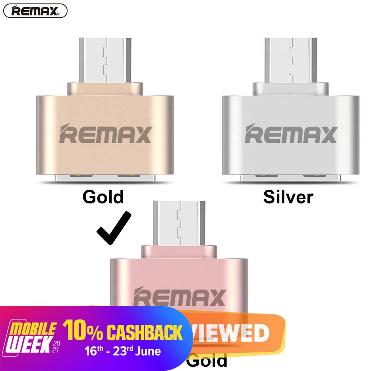 REMAX Micro USB OTG Adapter Female USB to micro USB male Data Adapter Travel Converter