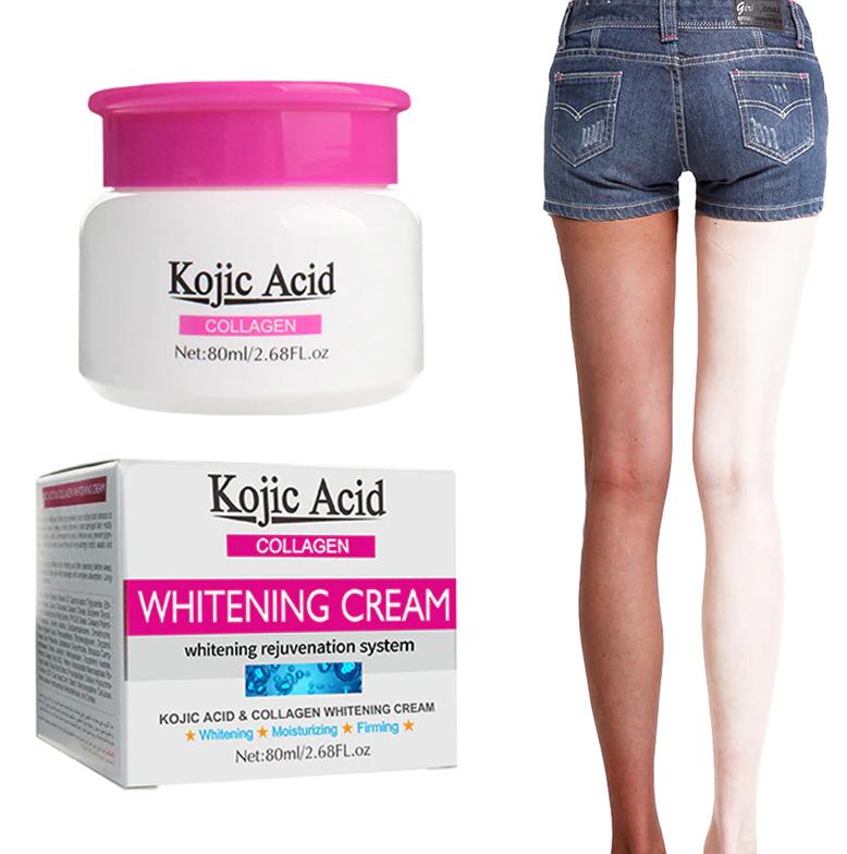 GUANJING KOJIC ACID Collagen Lightening Face Body Cream 80ml-GJ7003