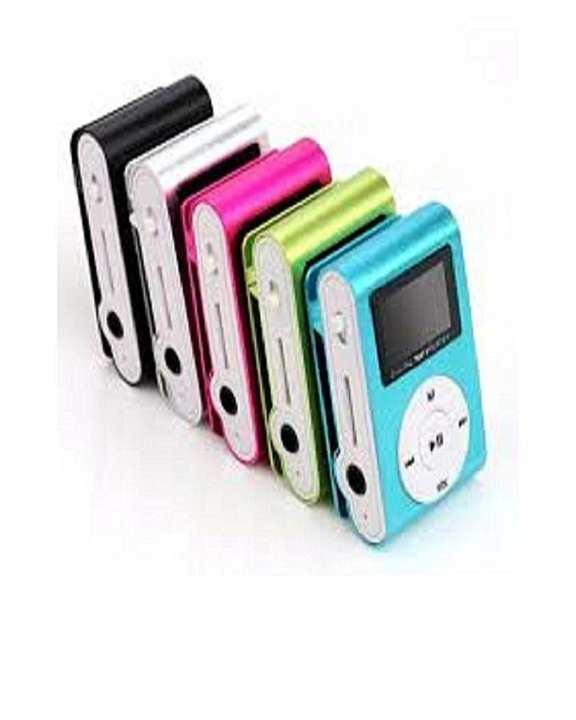 Mini Mp3 Player - Box Pack - Multicolor