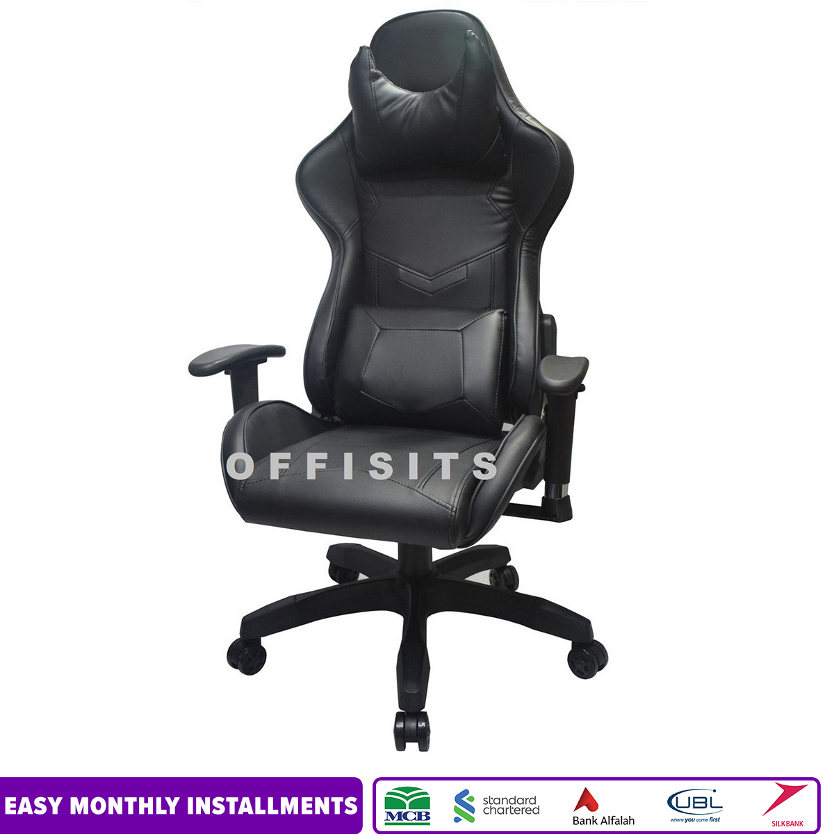 Imported GAMING CHAIR - AQUA -RED