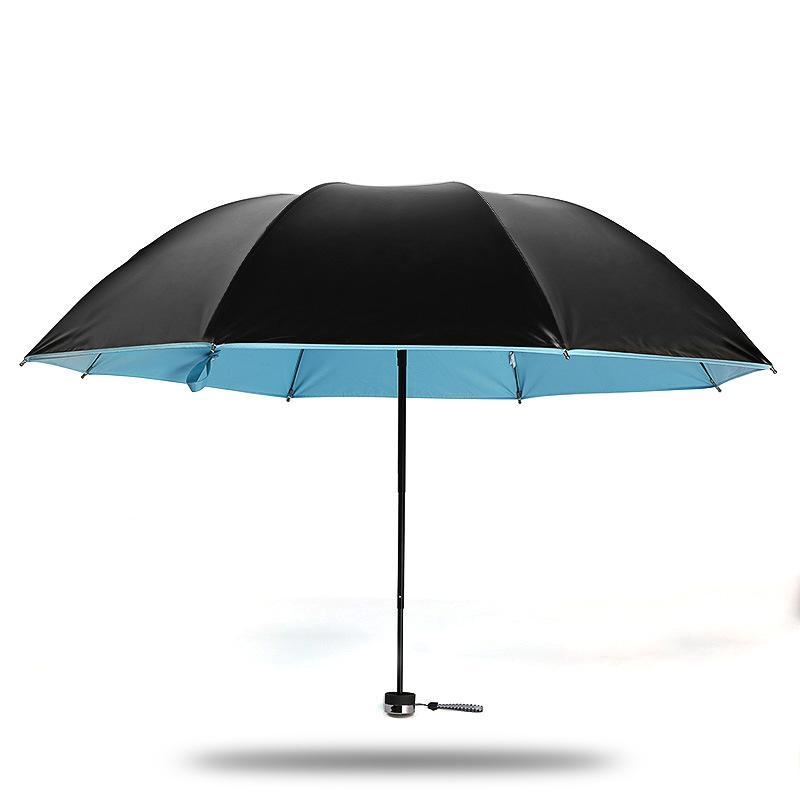 Mini Compact Sun Rain Travel Umbrella Lightweight Portable Outdoor Golf Umbrella With 95 Uv Protection