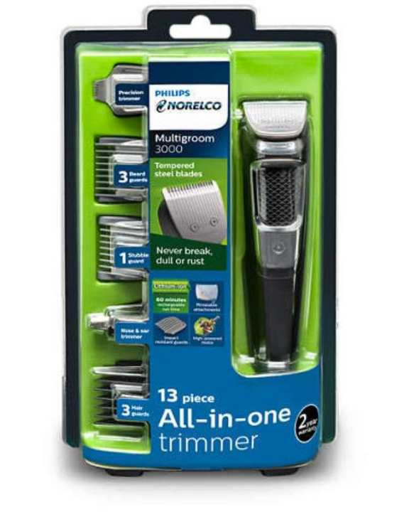 PHILIPS NORELCO BEARD AND NOSE TRIMMER KIT 13 IN 1 MG3750