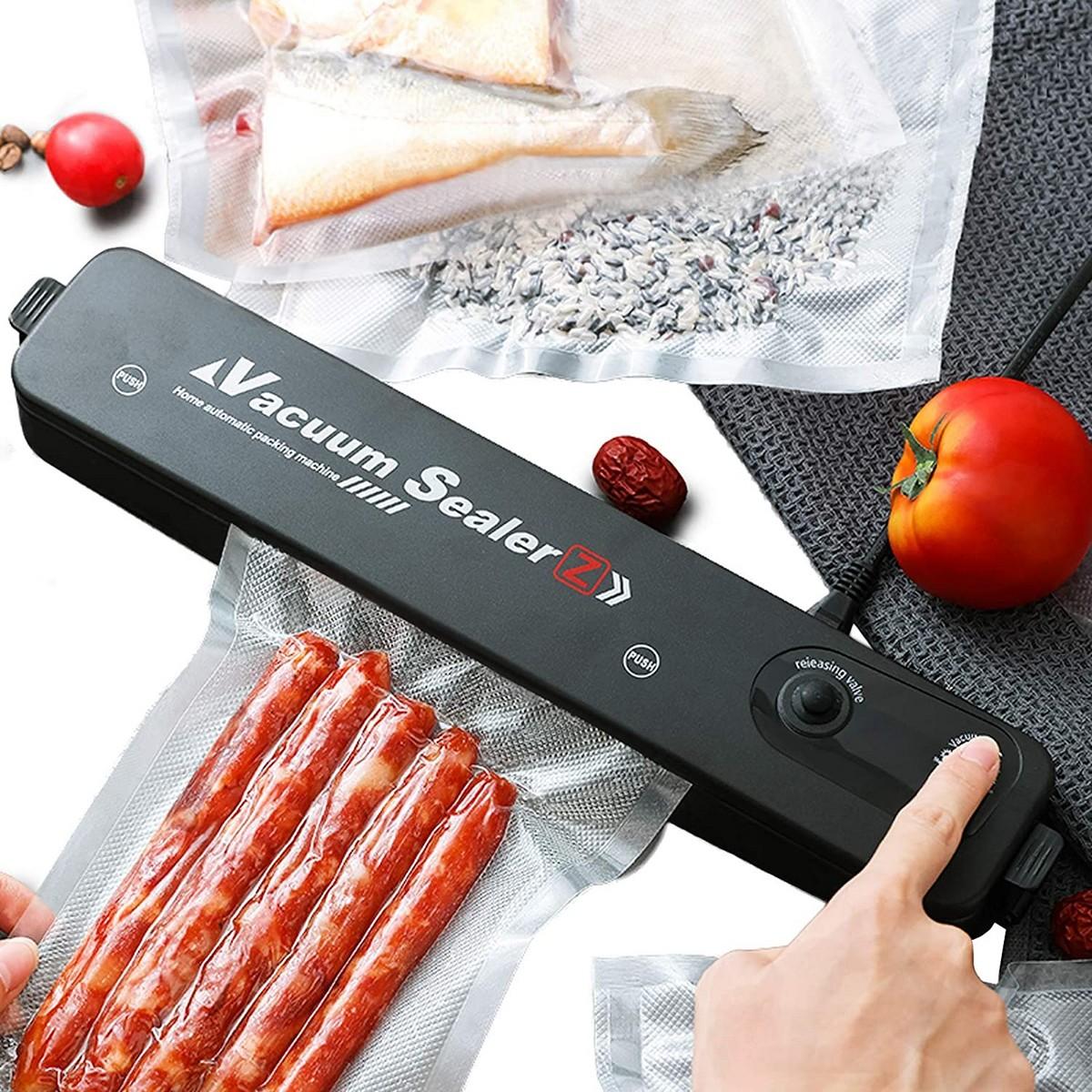 Vacuum Sealer Hand Machine Automatic Food Sealer for Food Saver 5 Vacuum Bags Kitchen Tools Set - ZKFK-001