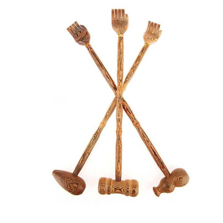 UR Wooden Back Scratcher Wood Back Scraper Massager Backscratcher Body Massager