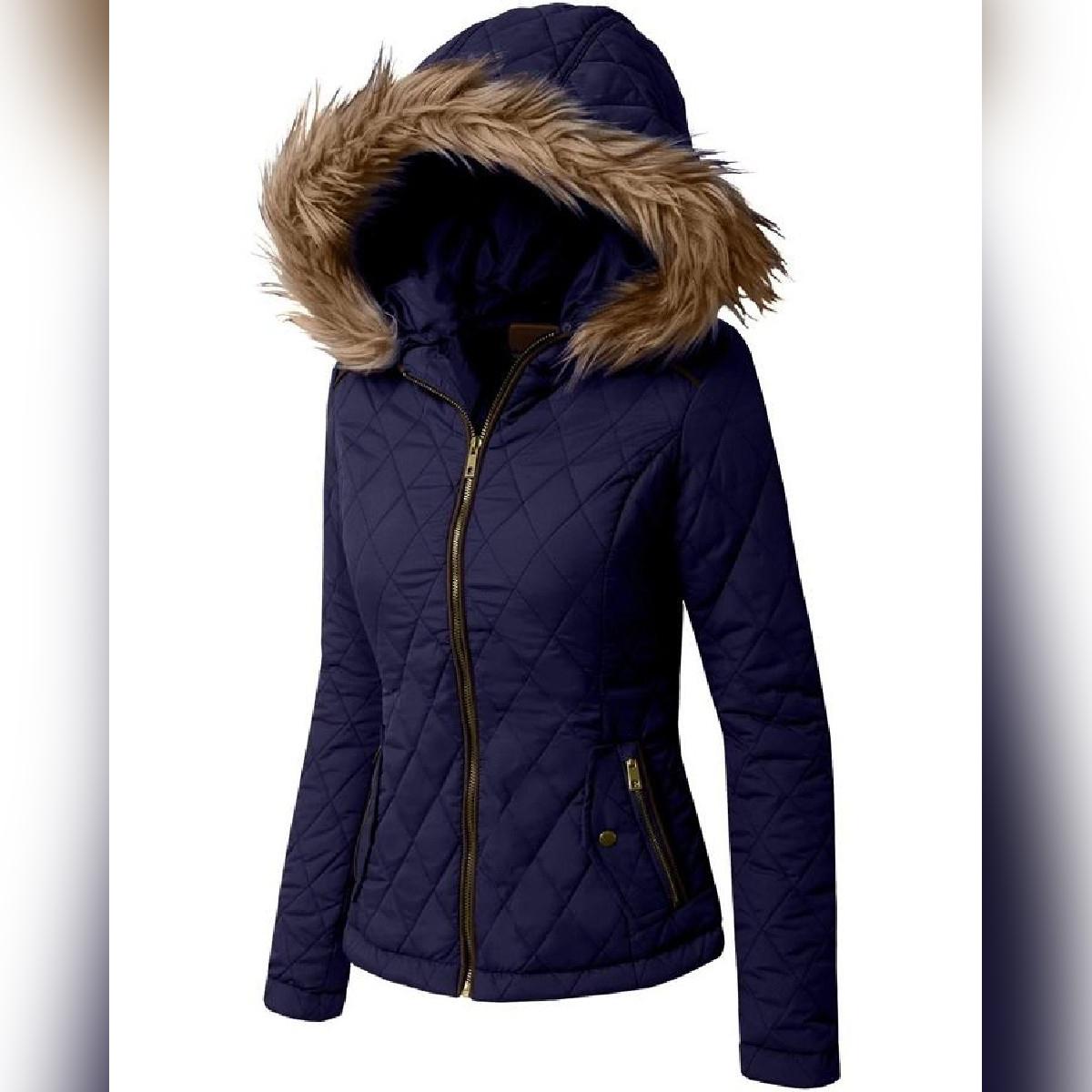 Ladies Parachute leather Jacket