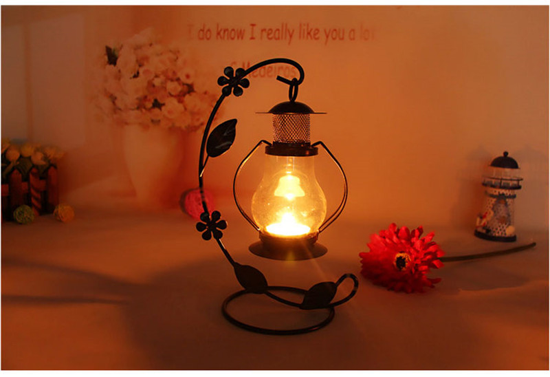 The Drawing Room-Home decoration  decor hanging Lighten  glass house metal candle holder