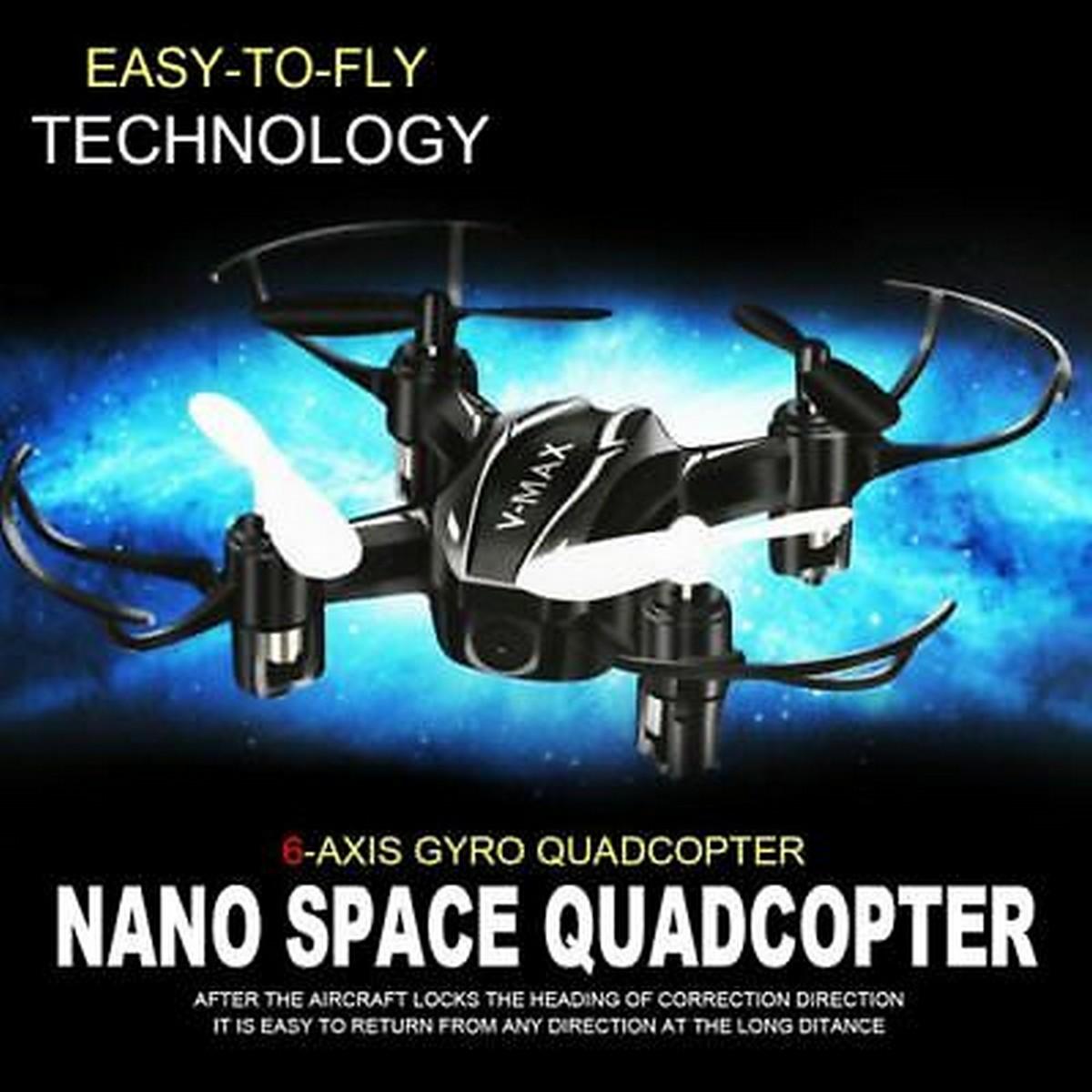 Nano Drone Infrared Control 4CH Mini RC Quadcopter Kit With Lights RTF