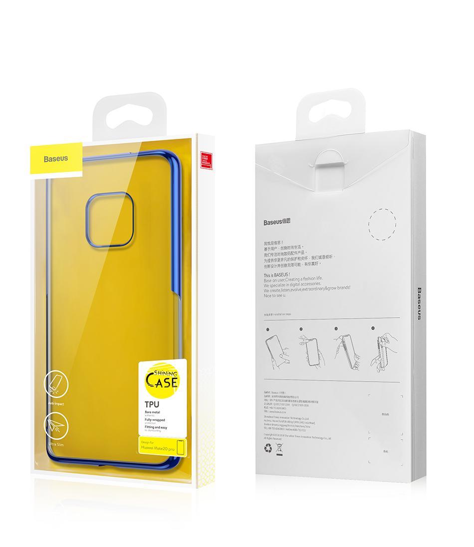 BASEUS Shining Series Plated TPU Case for Huawei Mate 20 Pro