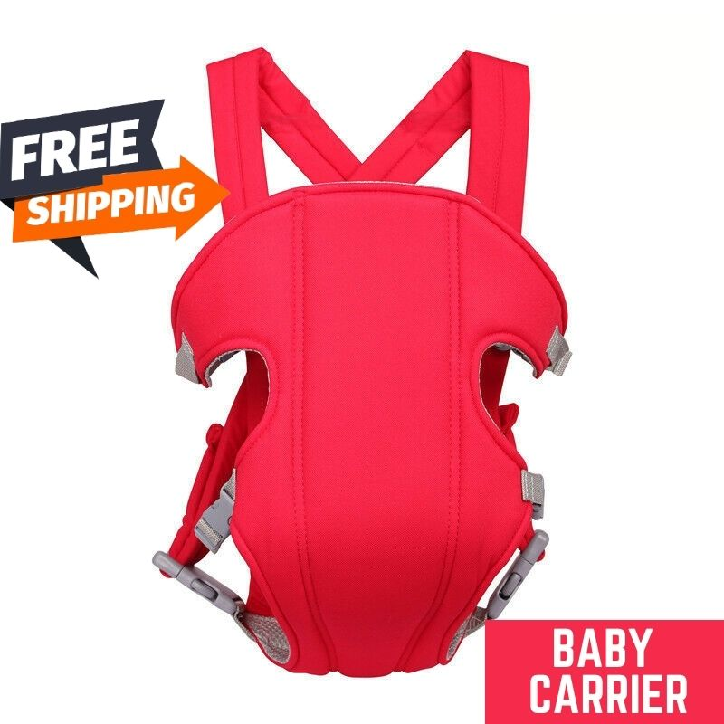 Multicolor Adjustable Baby Carrier | Strong Material Safety Belt | Adapt to Newborn Infant & Toddler of 3 to 18 Month Backpack | The Elegant Cart