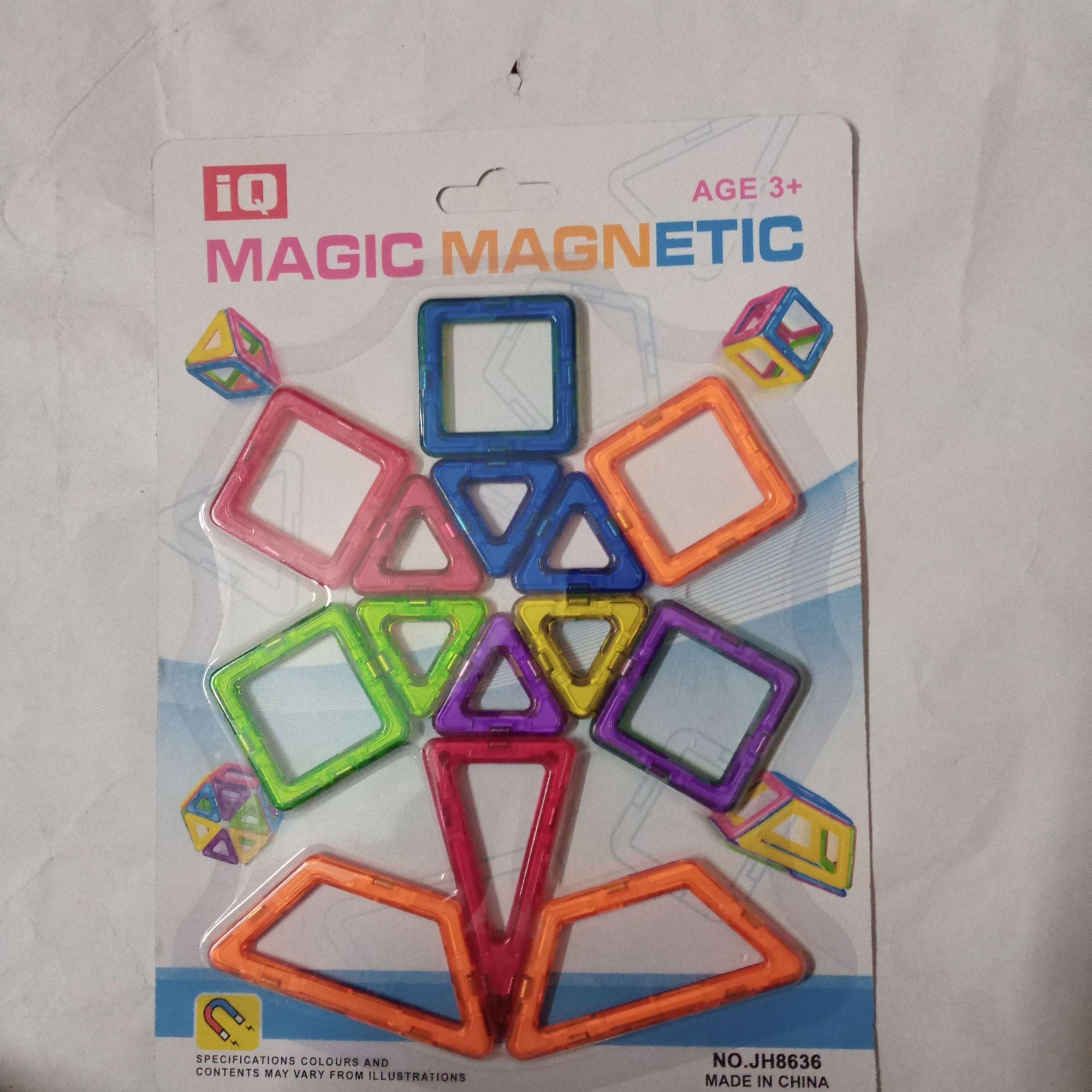 Magnet Toy Magnetic Blocks Magnetic Sticks Magnetic Tiles Building Blocks Metalic Plastic Magnetic Novelty Kid's / Adults' Boys' Girls' Toy Gift