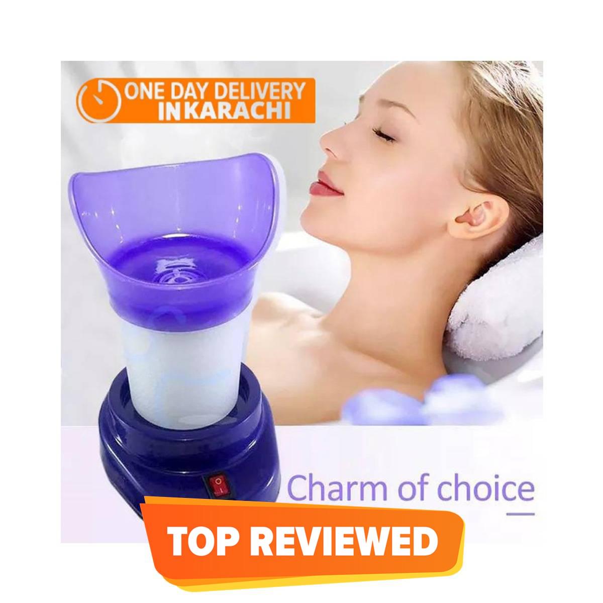 Shinon Original – Steamer and Inhaler for Block Nose & Facial Usage 2 in 1 Massage Tool The Steam Facial