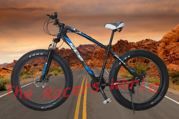 FLASH SLAE FAT TYRE CYCLE 26 INCH FRONT AND REAR DISK BREAK 21 SPEED GEAR SYSTEM COMBINATIONS best for boys and girls