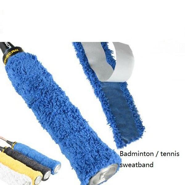 1 Pc Anti-slip Towel Grip Badminton Racket Sweatband Overgrip For Fishing Rod Jump Rope Slengshot Sweat Band Sport Tape Accessories