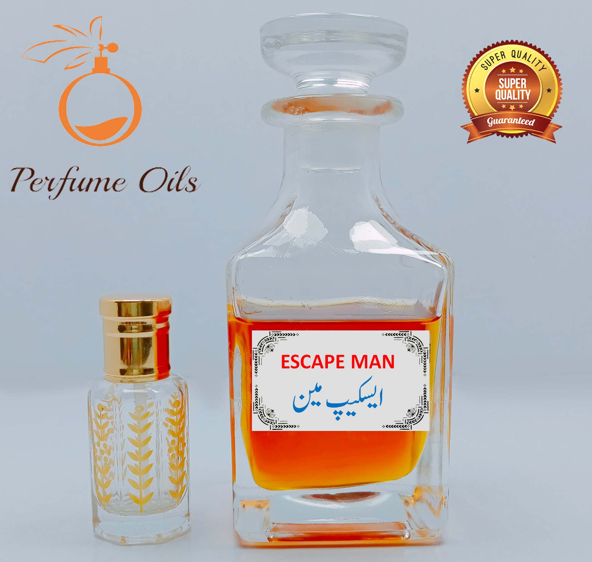 ESCAPE MEN Special Perfume Oil  Attar / Ittar   Best Projection   Long Lasting High Quality Original Fragrance by Perfume Oils Store