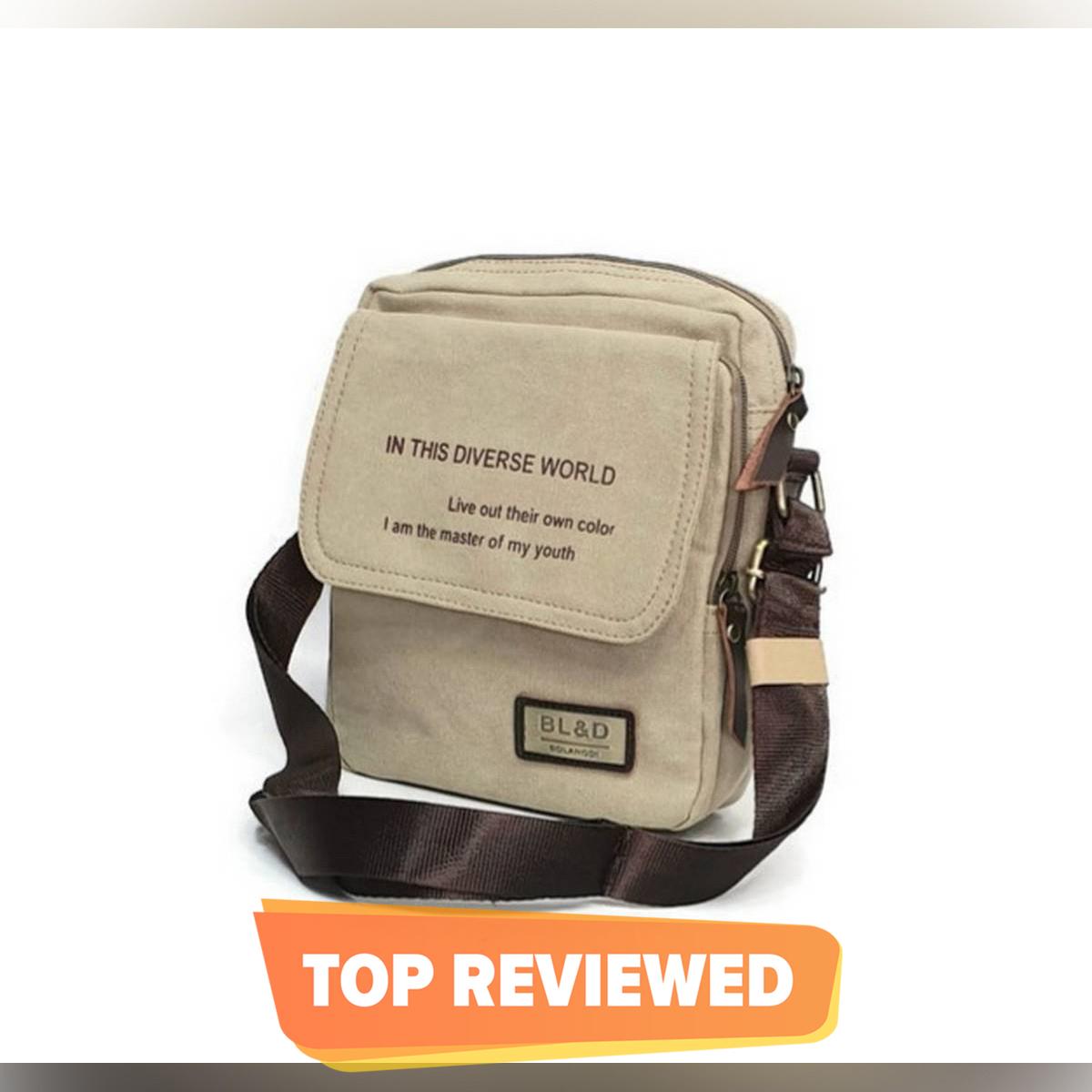 Mexican man canvas bag shoulder bag s casual canvas bag men Small Bag Satchel cross package